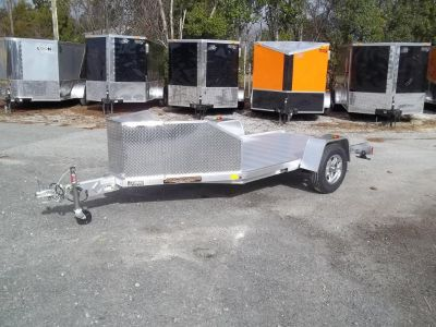 2019 aluma motorcycle trailer tk1