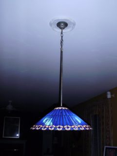 Tiffany Style Kitchen Chandelier