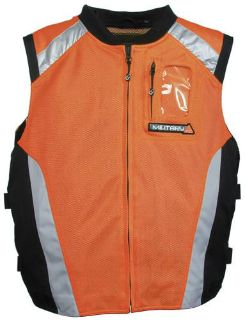Sell JOE ROCKET MILITARY SPEC VEST PERF ORANGE SM MD motorcycle in South Houston, Texas, US, for US $49.49