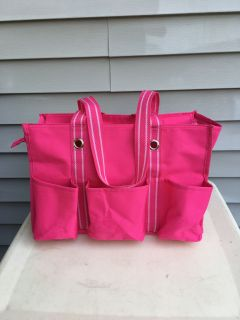 "USED ONCE-""THIRTY ONE - SPIRIT COLLECTION""ZIP TOP ORGANIZING UTILITY TOTE7 POCKETS10.75"" H - 14.5 L - 6.5 D WEB HANDLESSELLS $35"