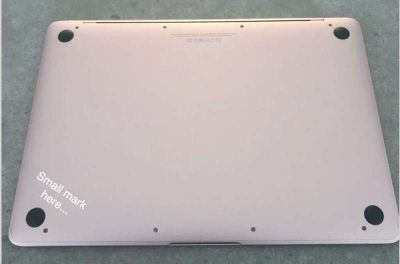 MacBook, Rose Gold, 12 inch screen - Great condition