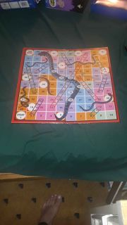Ludo Snakes and Ladders.