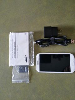 $185, T-mobile White Galaxy S3 32gb