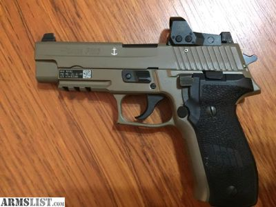 For Sale: MK25 P226 Sig Sauer with Romeo 01 reflex sight