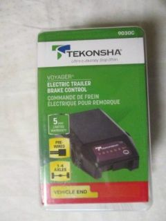 Find *NEW* Tekonsha Voyager Electric Trailer Brake Control - 9030C motorcycle in Joplin, Missouri, United States, for US $42.95