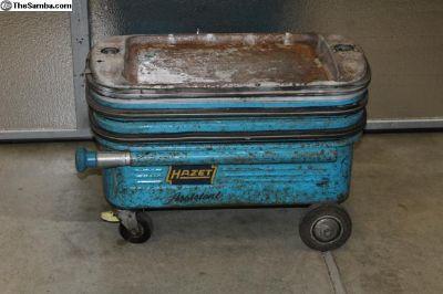 1960's Hazet 166 TS Assistant Tool Cart