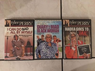 Tyler Perry - 3 Madea movies