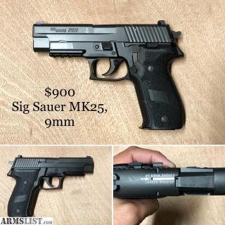 For Sale/Trade: Sig Sauer Mk25