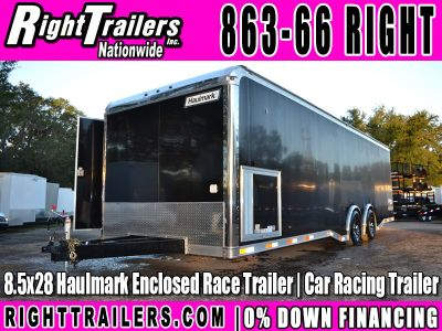 28' Haulmark Edge Pro Racing Trailer