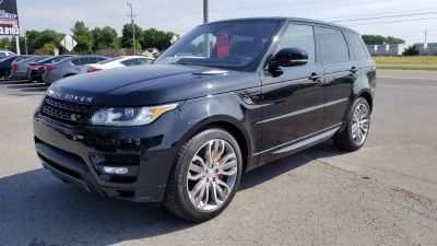 2016 Land Rover Range Rover Sport Autobiography (Black)