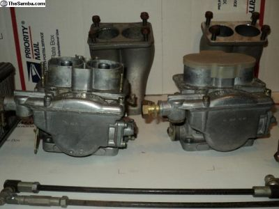 Weber 40 DCNF 12 ON Carburetors Italy