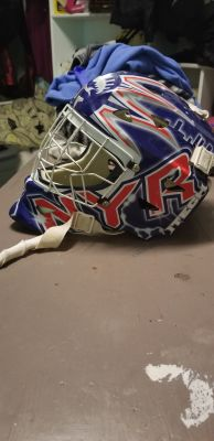Stree hockey helmet