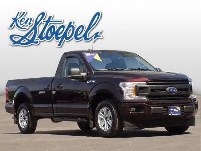 2018 Ford F-150 XL (Magma Red)