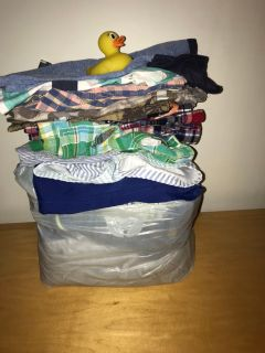 HUGE lot of baby clothing