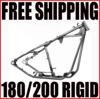 Sell KRAFT TECH RIGID 180/200 FRAME HARLEY CHOPPER BOBBER SHOVELHEAD PAN EVO K16074 motorcycle in Zieglerville, Pennsylvania, US, for US $1,025.95