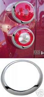 Sell 2006-11 Chevy HHR chrome Taillight Tail light trim rings 4pc set motorcycle in Venus, Pennsylvania, US, for US $51.90