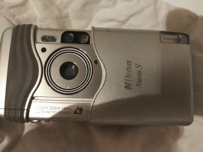 Nixon mucus s 2000 point and shoot film camera