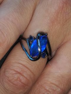 Blue Sapphire womans ring