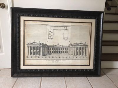 Large Architectural Print from Stock & Trade