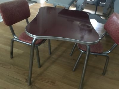 ~~Children s table & chairs from the 1950 s