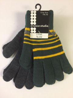 Ladies stretch knit gloves - one size
