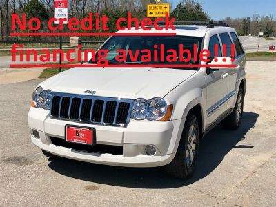 2008 Jeep Grand Cherokee Limited (White)