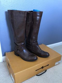 Tall Brown Boot - 7.5