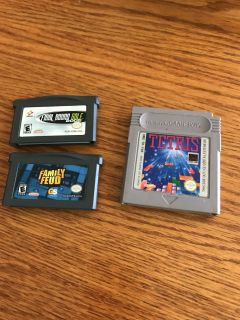 Lot of 3 gameboy games
