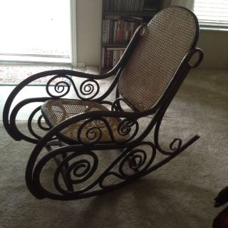 Vintage 1950's Brentwood rocking chair