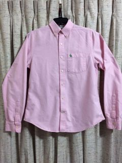 Abercrombie & Fitch Muscle Fit Long Sleeve Button Down Shirt
