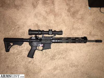 For Sale: 3-Gun AR-15