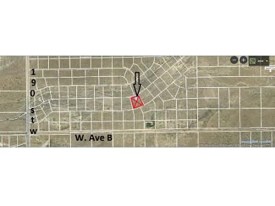 Foreclosure Property in Lancaster, CA 93536 - Acre Lot Located Within The Community Of Fairmont W Lancaster