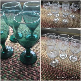 ARBYS VINTAGE VARIOUS HOLIDAY GLASSES 18 TOTAL SELLING AS SET EUC SOME NEW CHRISTMAS COLLECTIBLE
