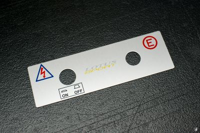 FS: OEM Cup car emergency switch panel - 2 available