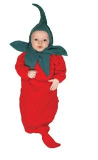 0-6 month chili pepper bunting/costume