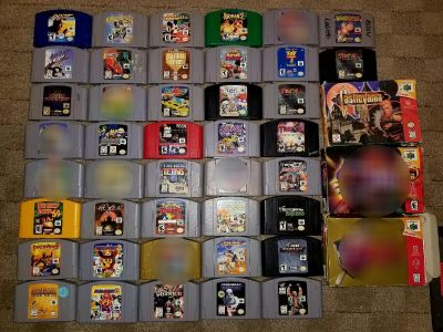 Prices in last pic: NINTENDO 64 GAMES FOR SALE