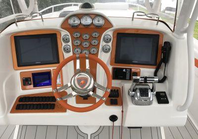 2011 Deep Impact 360 cabin. Sold