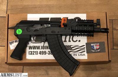 For Sale: IO Inc. M214 nano pistol 7.62x39