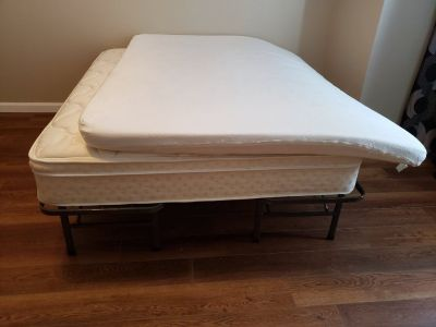 Full Size Mattress & Memory Form Pad