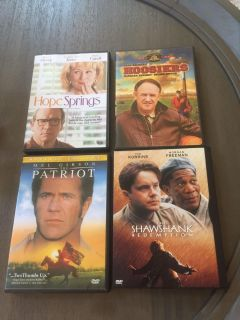 Set of movies-all 4 sold as set $4 total