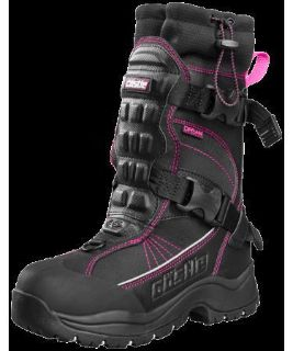 Purchase Castle Ladies Barrier 2 Magenta Waterproof Insulated Snowmobile Riding Boot motorcycle in Golden, Colorado, United States, for US $179.99