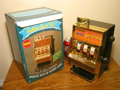 Vintage Toy Slot Machine IOB from JAPAN