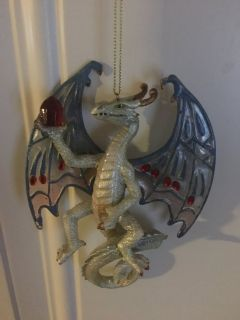 Dragon of the crystal cave ornament