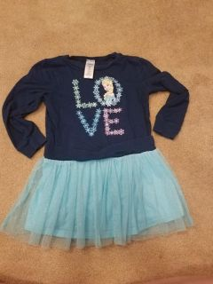 4T, DISNEY FROZEN TOP, EXCELLENT CONDITION, SMOKE FREE HOUSE