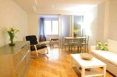 oversized 640 sqft Jr. 1 Bed 1 bath apartment on Central Park South