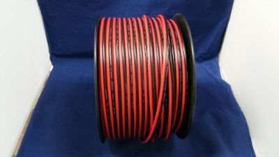 Sell 12 GAUGE 100 FT RED BLACK ZIP WIRE AWG CABLE POWER GROUND STRANDED COPPER CAR motorcycle in Mulberry, Florida, United States, for US $38.95