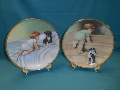 Bessie Pease Gutman Collectible Plates