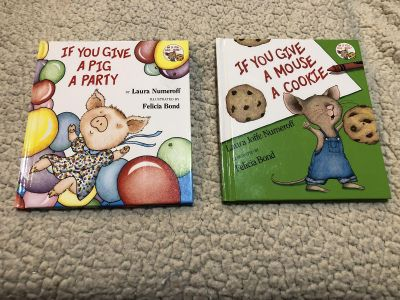 Pig A Party & Mouse a Cookie Kids Books