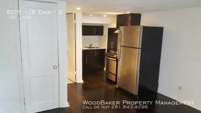 Beautiful studio apartment. Minutes from downtown. Newly renovated. Must see!