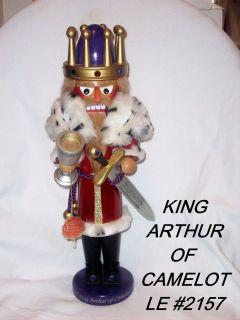 STEINBACH LIMITED NUTCRACKER-KING ARTHUR-